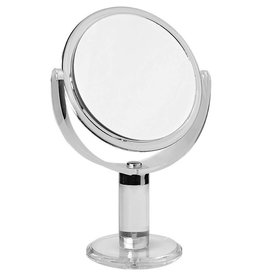 Make-up Spiegel acryl Ø15cm/10x vergroting