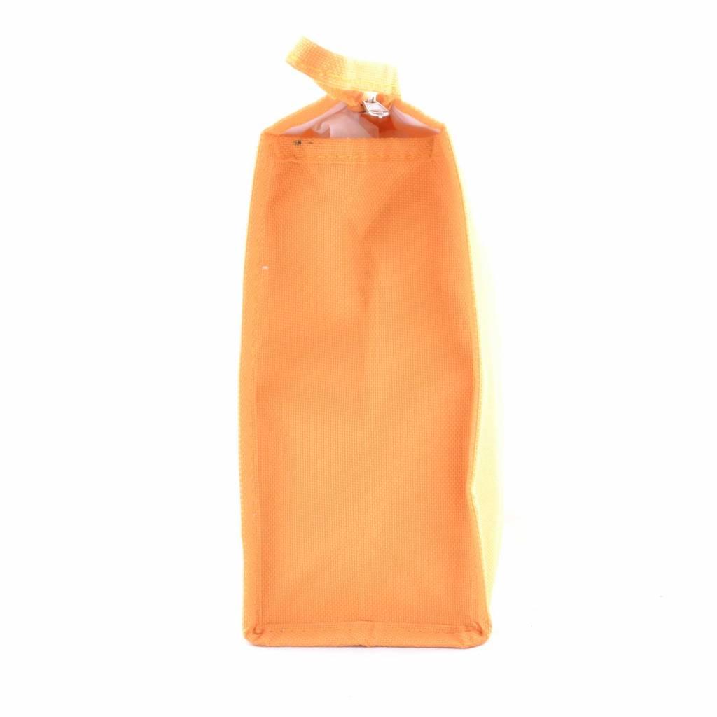 Toilettas uni Oranje, reizen, vakantie, beauty, opbergen
