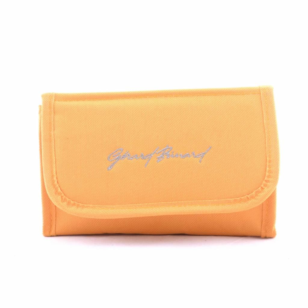 Spiegeltasje uni Oranje, reizen, vakantie, beauty, opbergen, stappen, spiegel