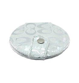 Make-up Tasspiegel metallic zilver