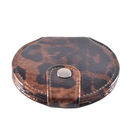 Tasspiegel Dieren print panter Cognac Bruin