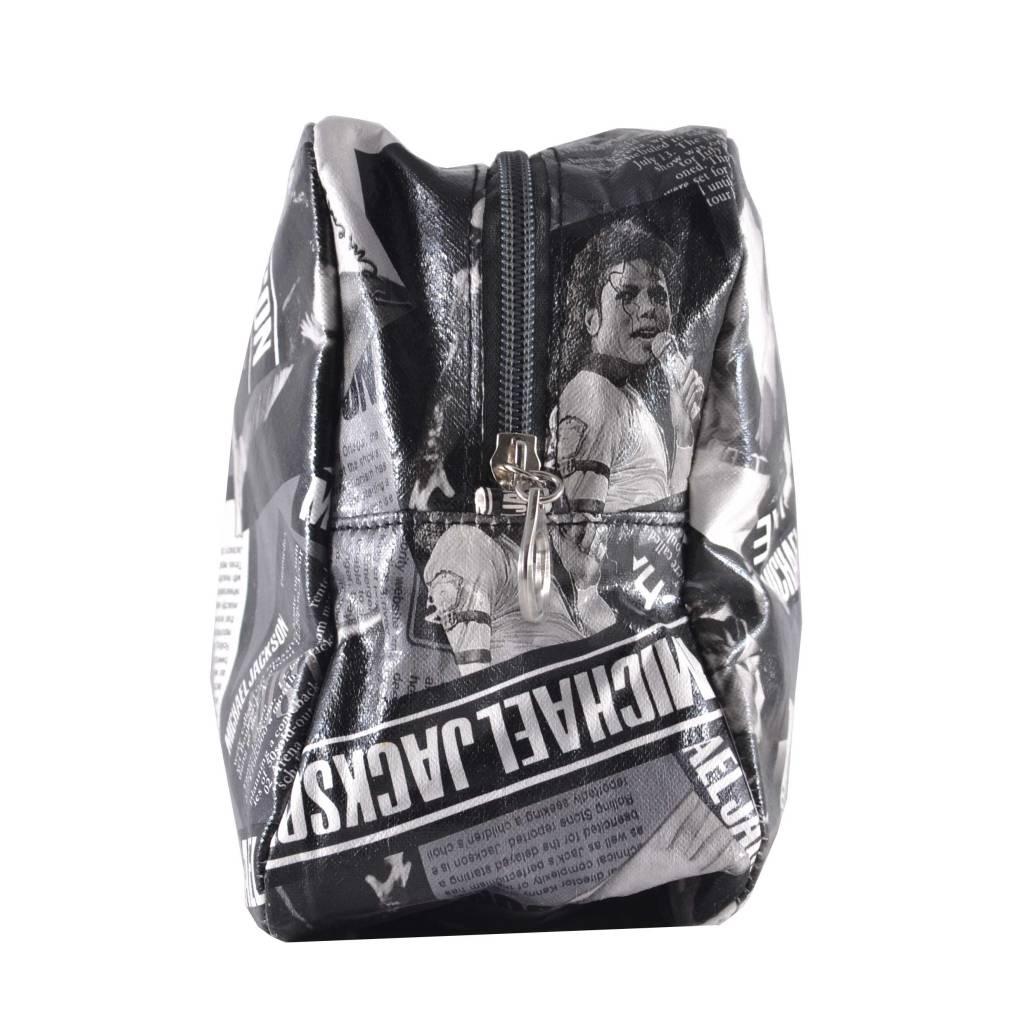 Toiletbox Michael Jackson Wit, reizen, vakantie, beauty, opbergen