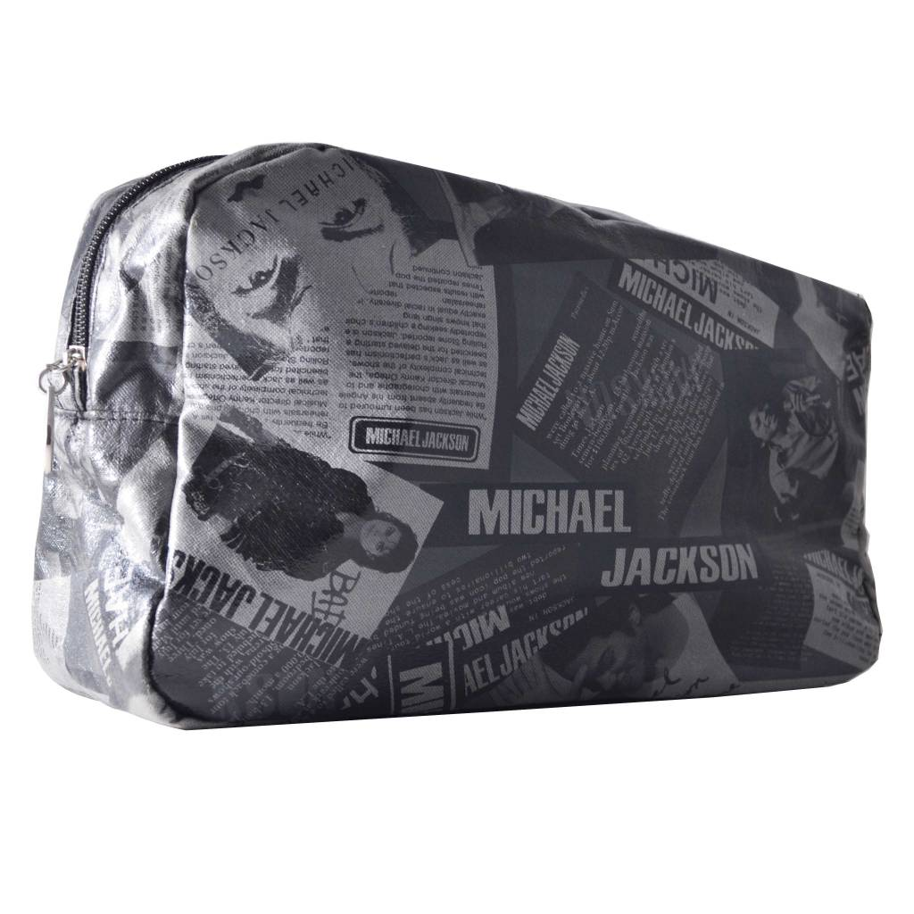 Toiletbox Michael Jackson Zwart, reizen, vakantie, beauty, opbergen