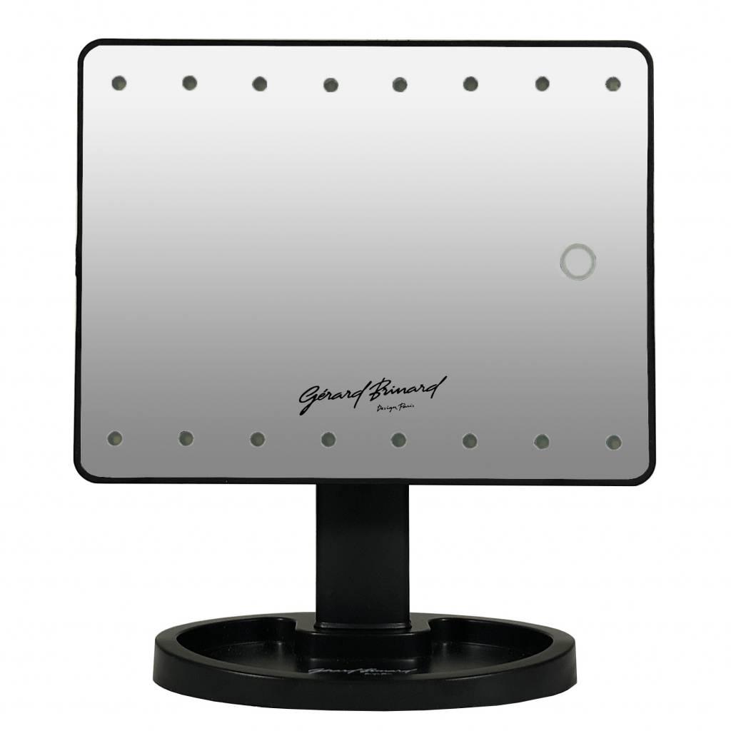 Make-up LED spiegel met zuignap spiegeltje 10x vergroting