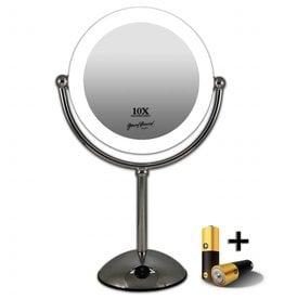 Make-up LED Spiegel 10x vergroting 22cm doorsnee