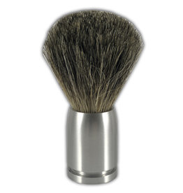 Luxe scheerkwast Dashaar zilver