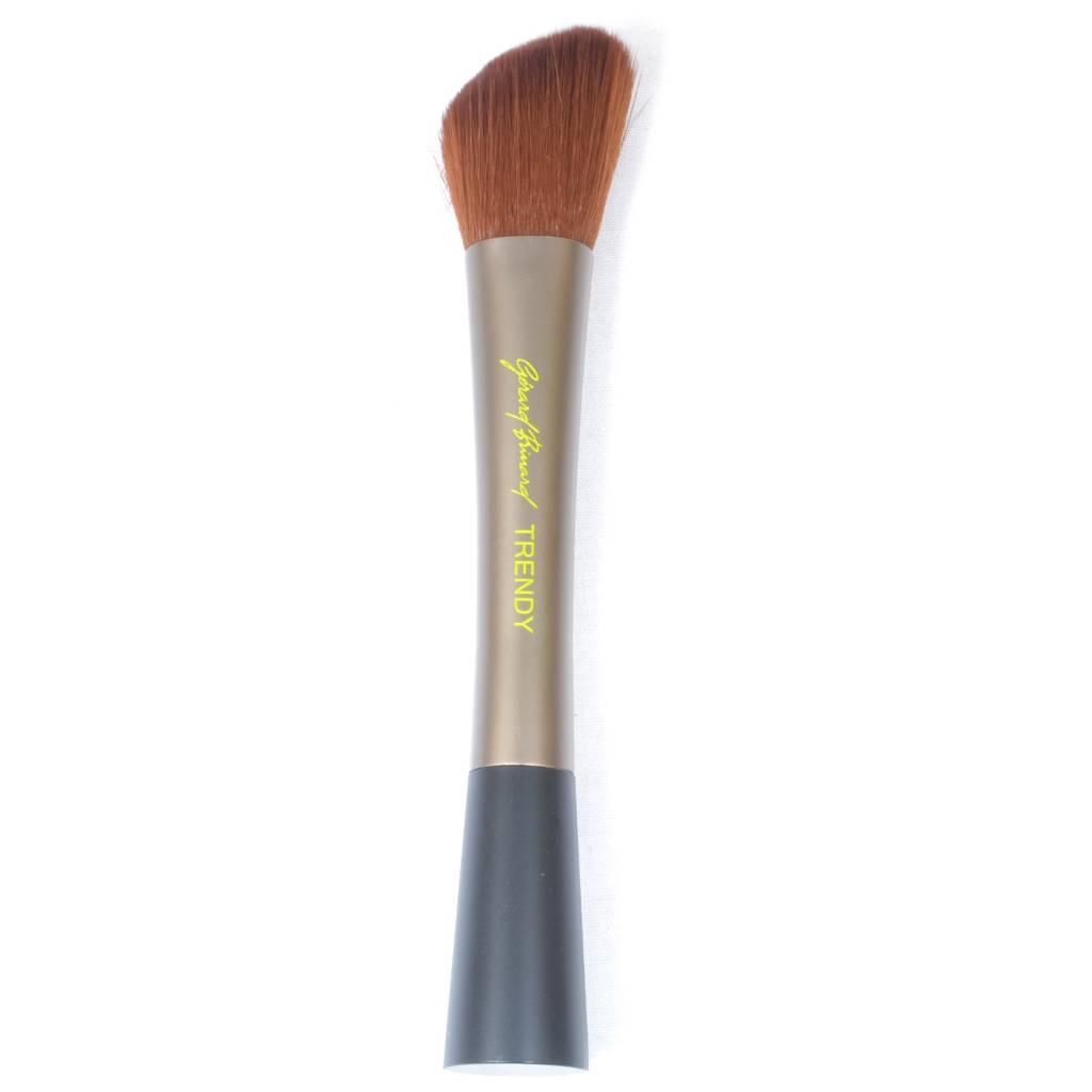 Schuine Make-up blusher/shaperkwast Trendy