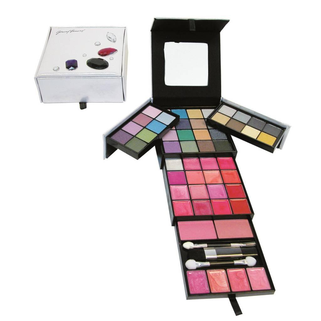 Make-up kit zilver