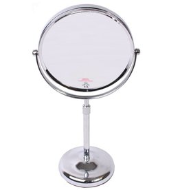 Make-up Stel Spiegel chrome Ø20cm/5x vergroting