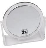Make-up/Scheerspiegel acryl Ø11cm/3x vergroting