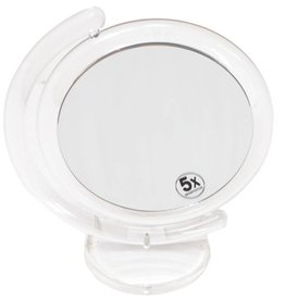 Make-up Spiegel Acryl Ø17,5cm/5x vergroting