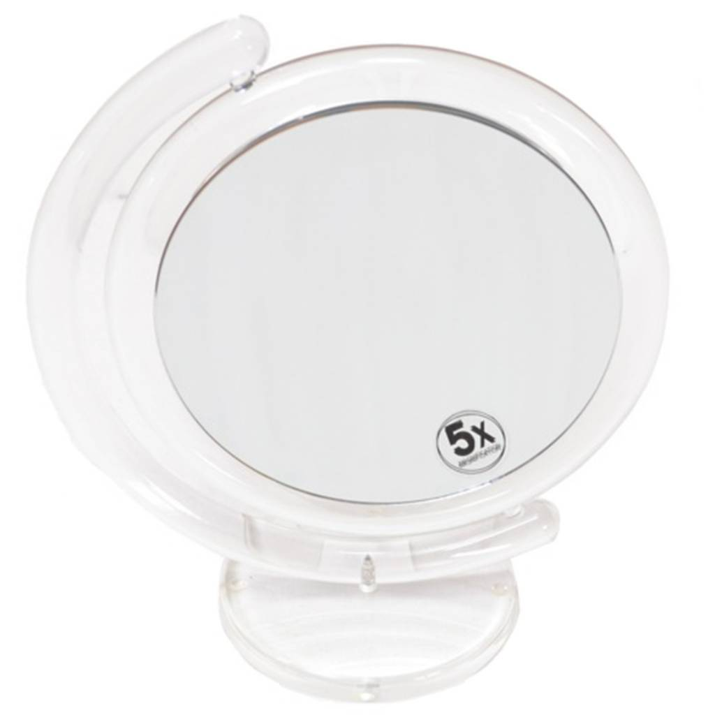 Make-up Spiegel Acryl Ø17,5cm/5x vergroting