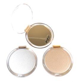 Tasspiegel goud/zilver