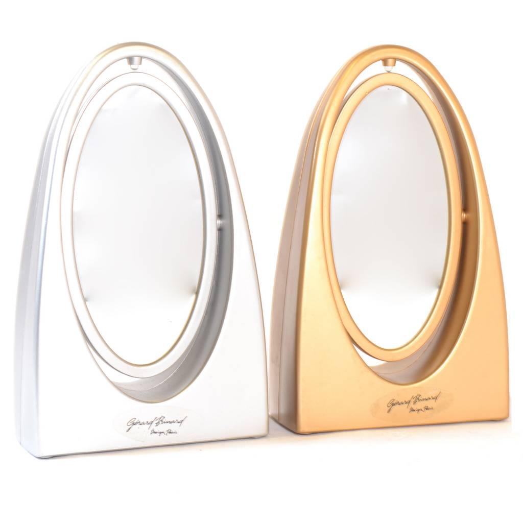Make-up Spiegel met licht Goud/Zilver
