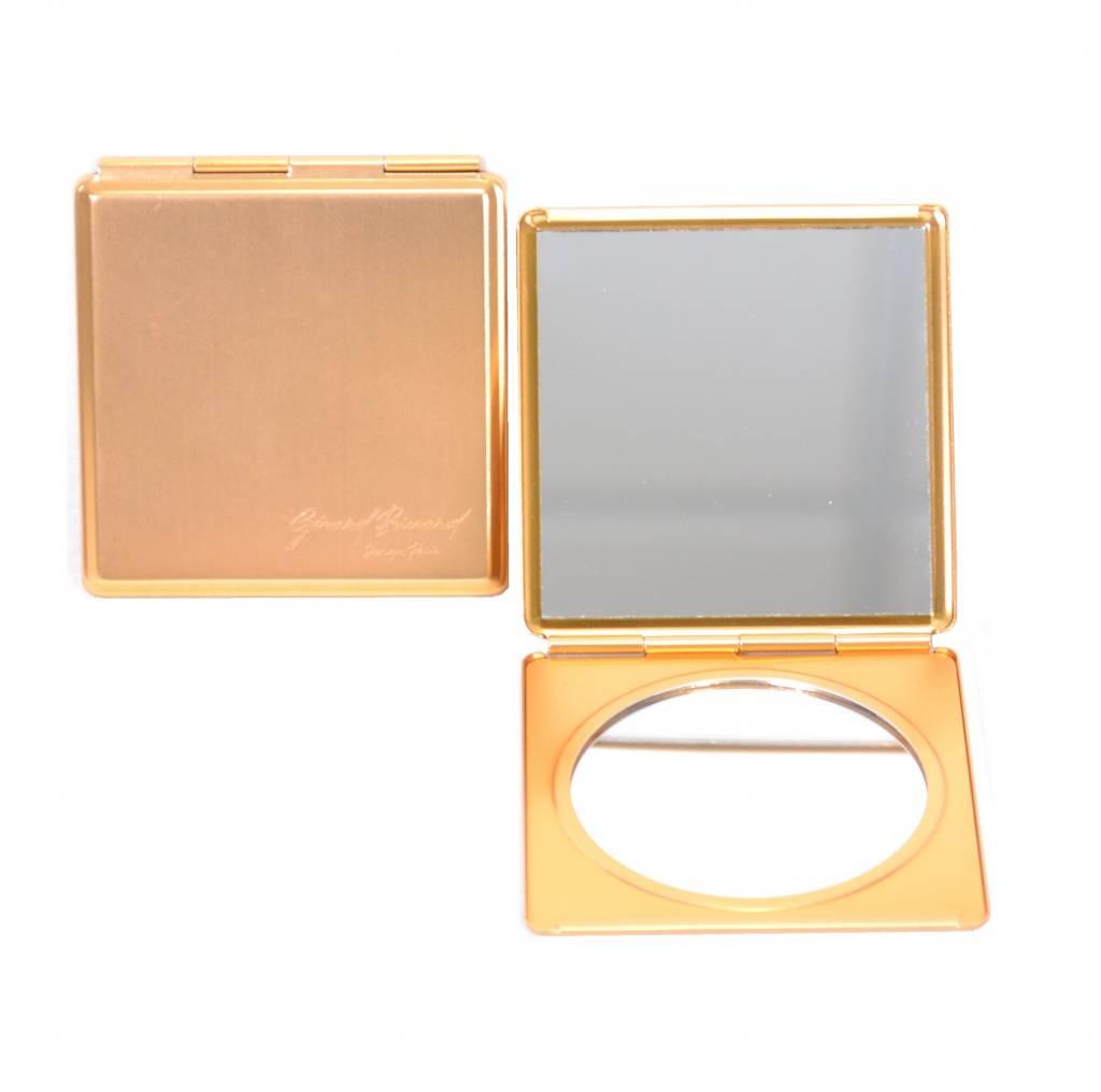 Make-up Tasspiegeltje zwart/Goud/Zilver