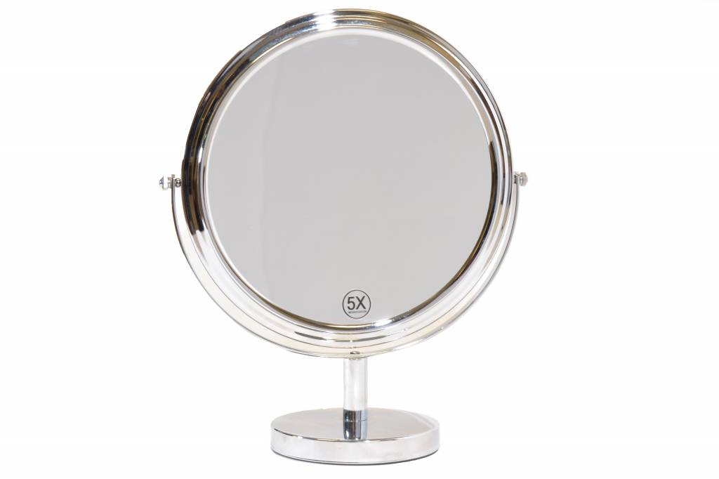 Grote Make-up spiegel Ø27cm/5x Vergroting