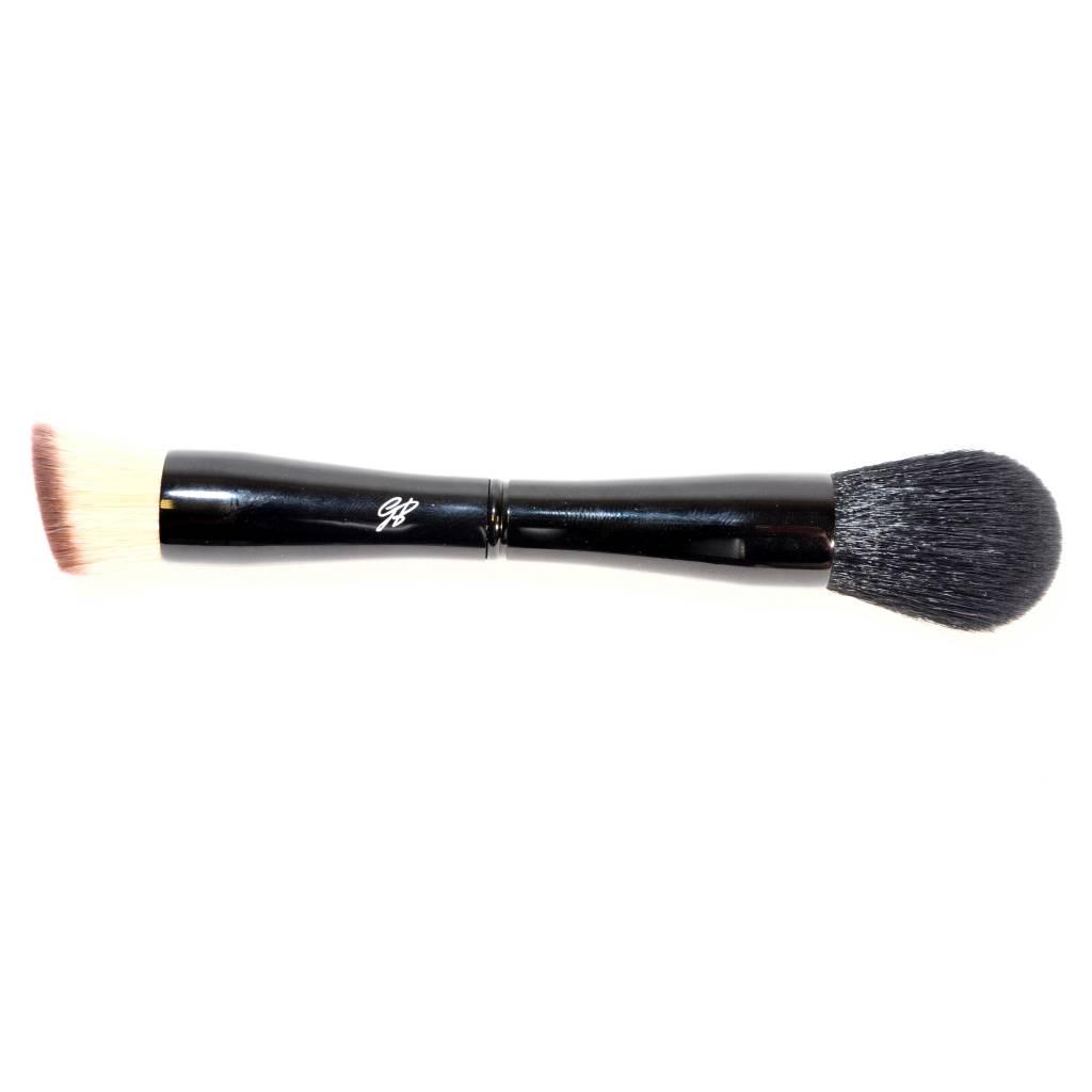 4 in 1 Make-up Kwast met tasje