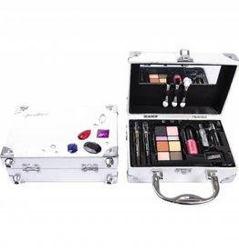 Make-up koffertje (Gratis bij €100 euro besteding) zilver