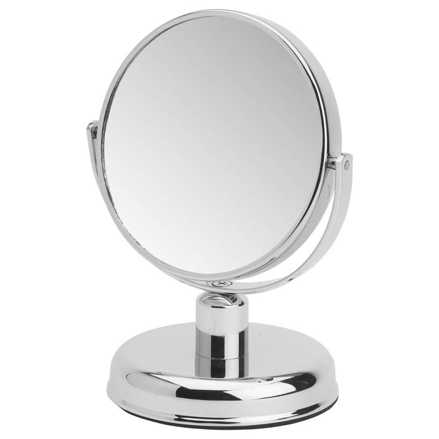 Make-up Spiegel chroom Klein/Middel/Groot 10X vergroting