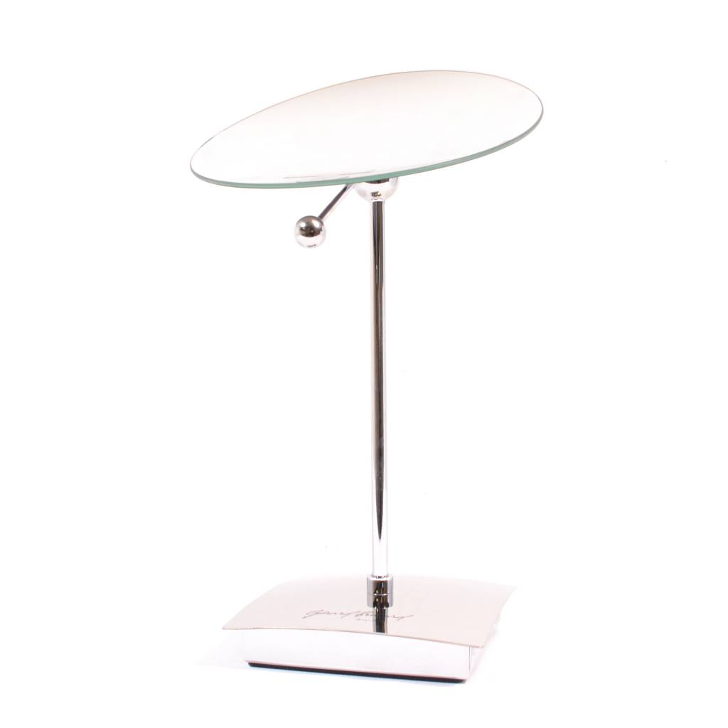 Make-up Spiegel hand en stand, Ø15,3cm/5x vergroting