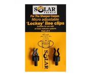 solar tackle plastic micro adjustable line clips