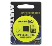 matrix fishing 1m sp feeder rigs