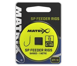 matrix fishing 1m sp feeder rigs