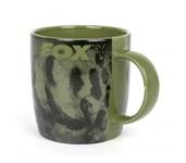 fox printed ceramic mug