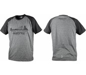 spro freestyle t-shirt grey