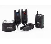 sonik sports sks alarm set 3+1 + gratis bivvy light