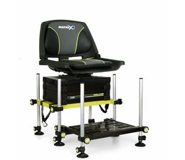 matrix fishing f25 seatbox mk11 system  with swivel seat **SALE**