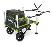 matrix fishing 2 wheel superbox transporter
