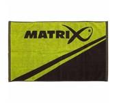 matrix fishing hand towel
