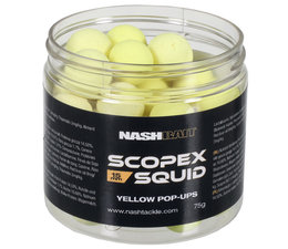 nash scopex squid pop ups yellow