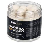 nash scopex squid pop ups white