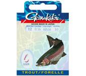 spro gamakatsu hook bks-5330r trout