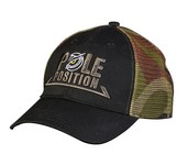 pole position trucker cap black/camou