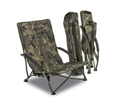 solar tackle undercover camo foldable easy chair - low