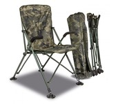 solar tackle undercover camo foldable easy chair - high