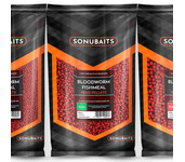 sonubaits feed pellets bloodworm fishmeal