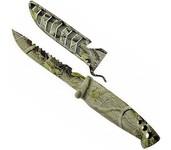 elite jaxon camouflage army knife