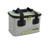 matrix fishing eva cooler bag - light grey