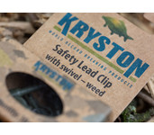 kryston safety lead clip / with swivel weed