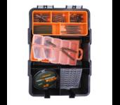 life orange carp fishing 90 delig set