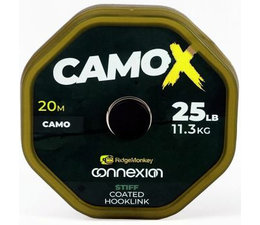 ridgemonkey connexion camox stiff coated hooklink