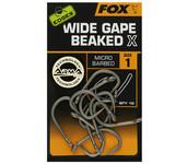 fox wide gape beaked x hooks