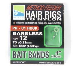 preston method feeder hair rig - bait band  **UITLOPEND**