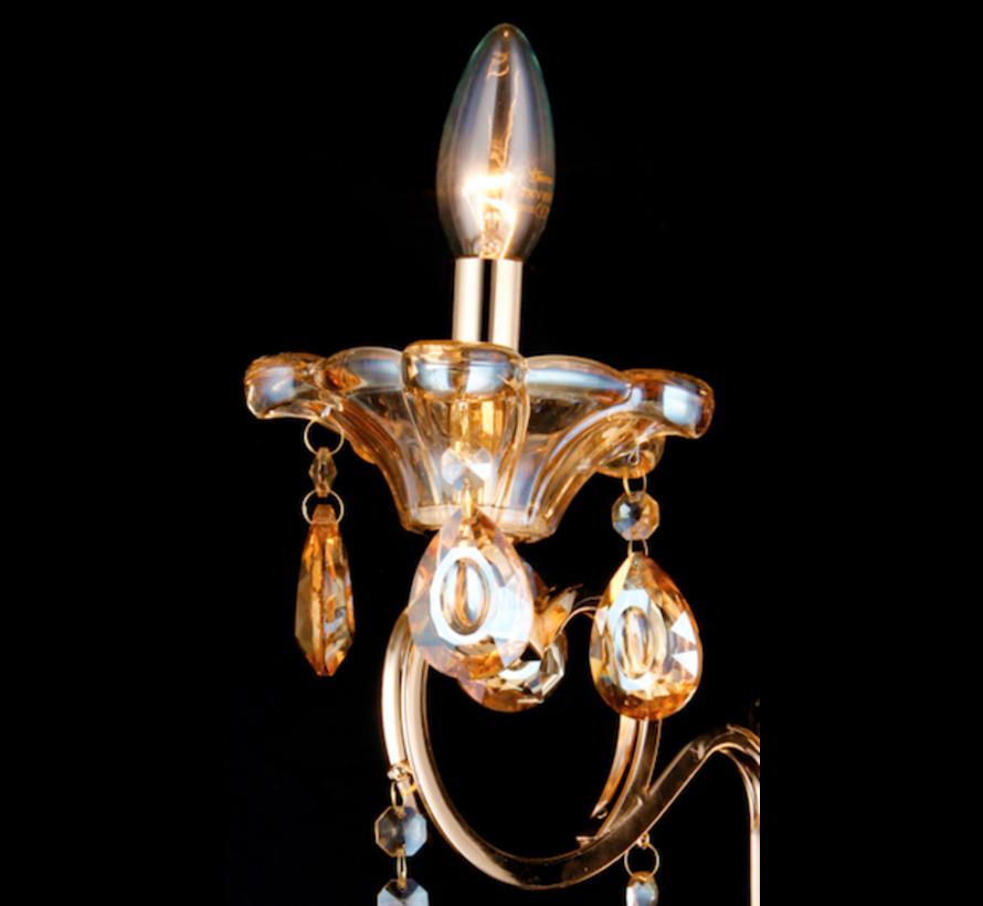 Zakhrifa, een ornamentale wandlampen- en kroonluchterserie voor een koninklijke uitstraling in huis