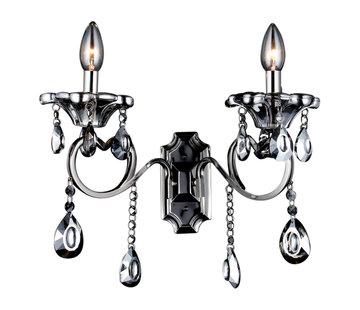 Antraciete wandlamp 2-lichts - Zakhrifa