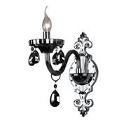 Antraciete wandlamp 1-lichts - Birashaqa